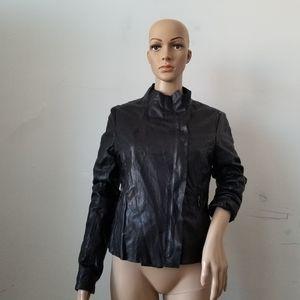 Bod & Christensen Karla Moto Leather Jacket, S